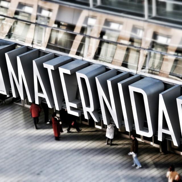 """Maternidad Madrid"" stock image"