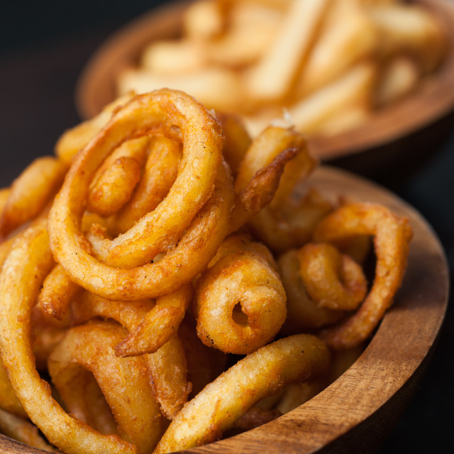 """""""Curly fries 2"""" stock image"""