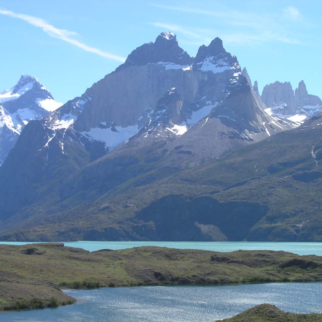 """Torres del Paine National Park, Chile"" stock image"