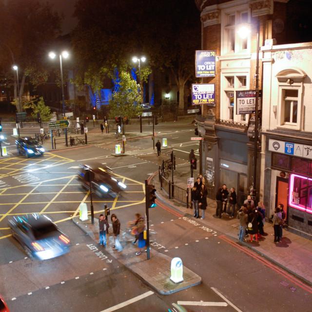 """East London Traffic Junction"" stock image"