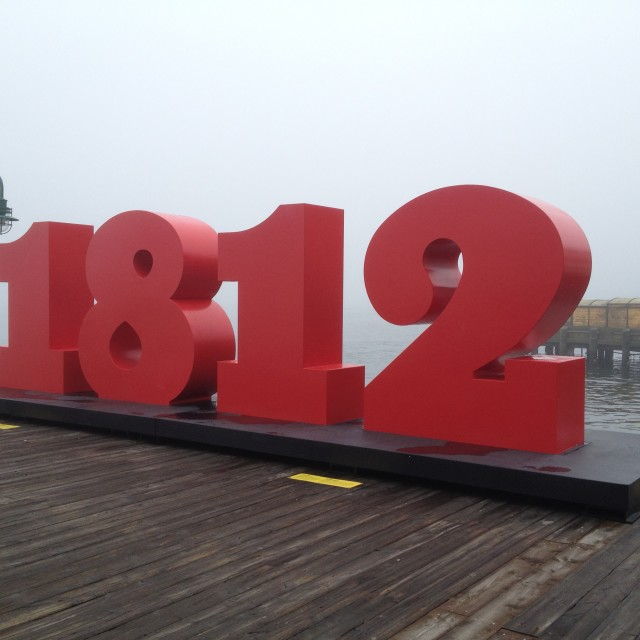 """Monument to the War of 1812 in Halifax, Canada"" stock image"