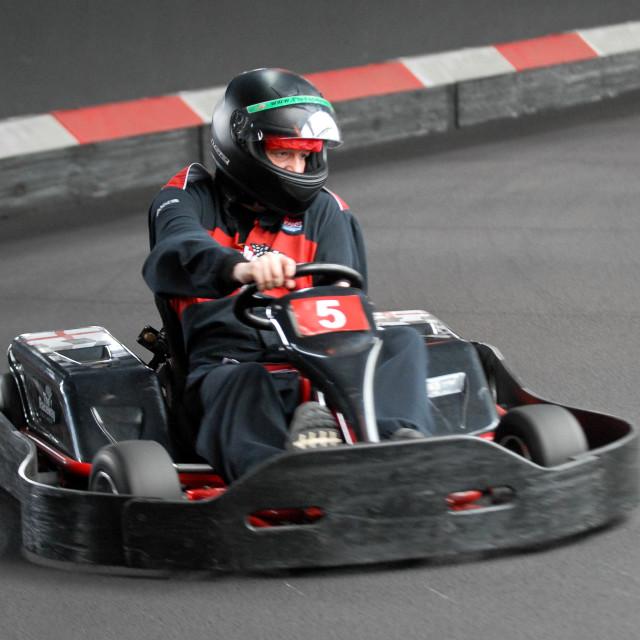 """""""Go Kart"""" stock image"""