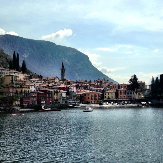 """Varenna, Lake Como"" stock image"