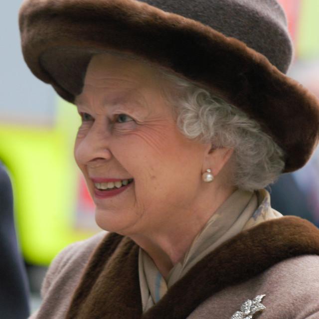"""HRH The Queen"" stock image"