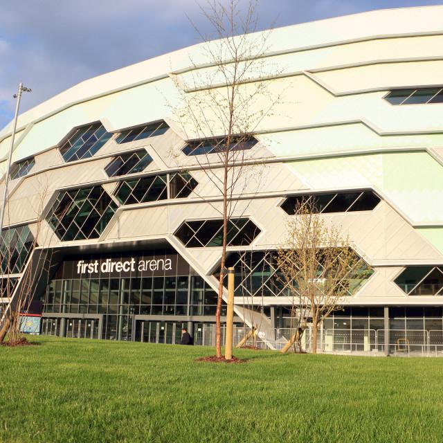 """first direct arena, Leeds"" stock image"