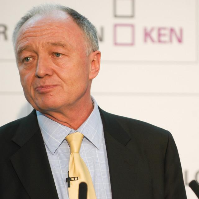 """""""Ken Livingstone"""" stock image"""