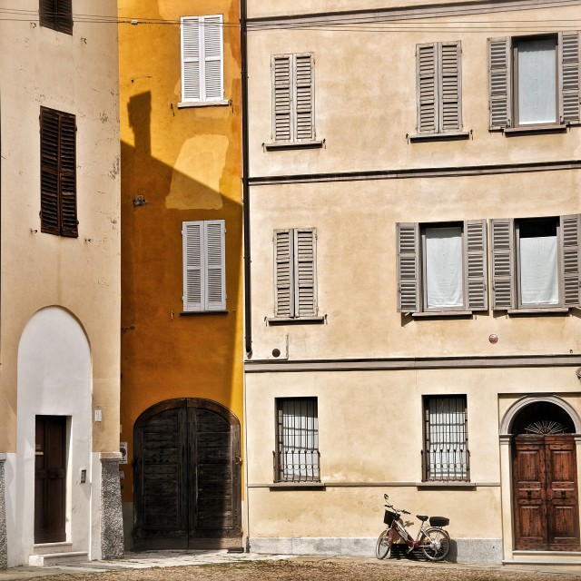 """Parma streets"" stock image"