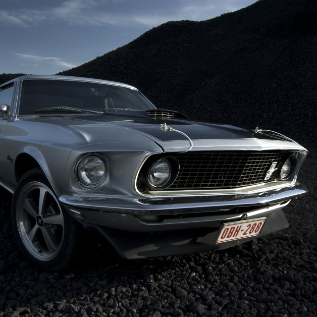 """Ford Mustang 1969"" stock image"