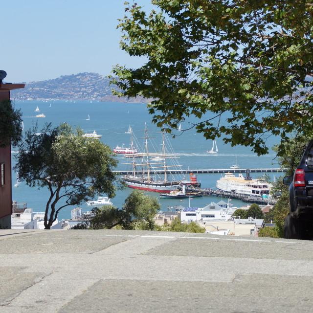 """""""san francisco bay"""" stock image"""