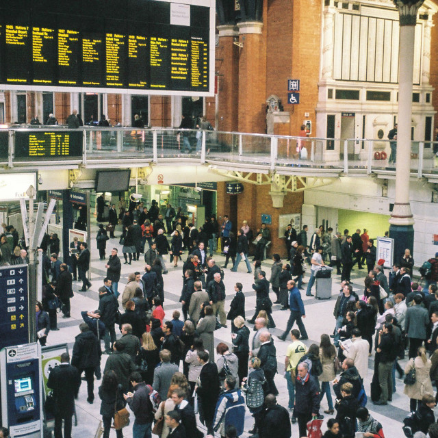 """Liverpool Street Station"" stock image"