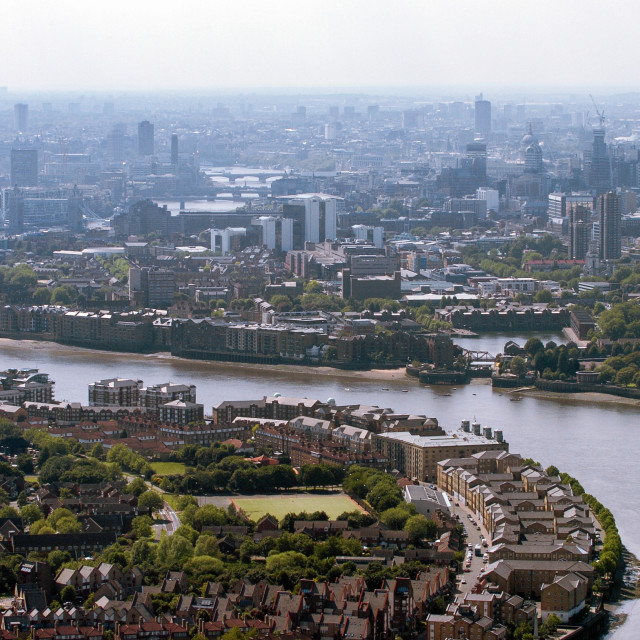 """""""Rotherhithe & Wapping"""" stock image"""