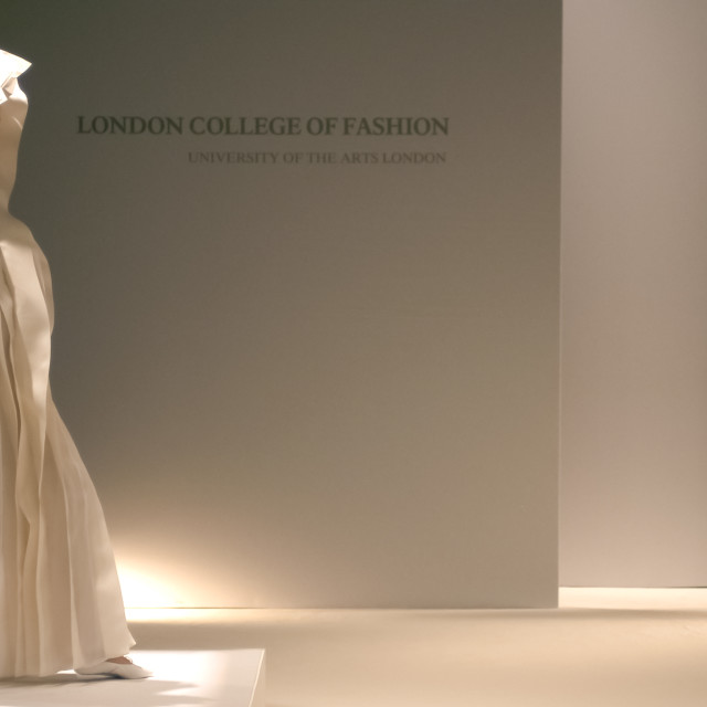 """London College OF Fashion"" stock image"