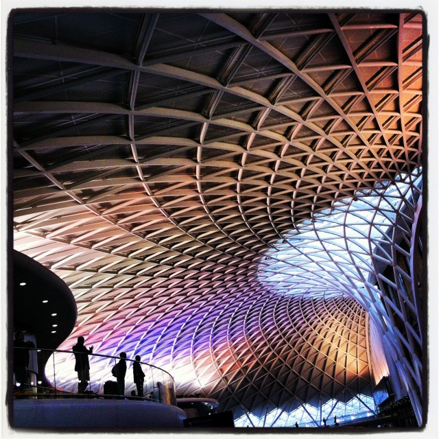 """King's Cross"" stock image"