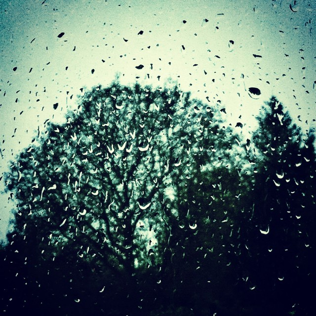 """""""Rain outside"""" stock image"""