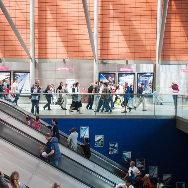 """""""London tube station"""" stock image"""