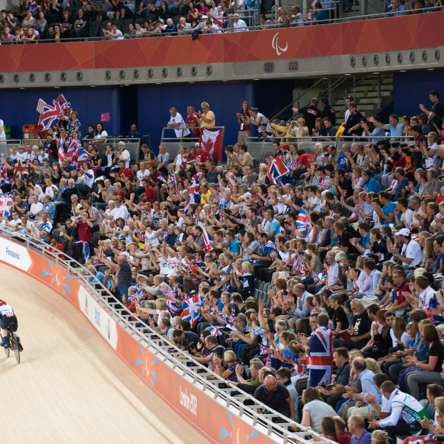 """Paralympic Crowds"" stock image"