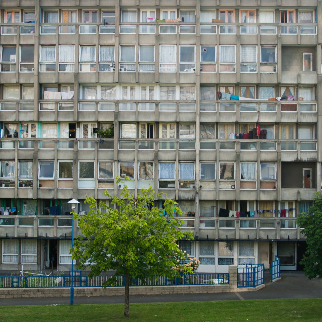 """Council Estate"" stock image"