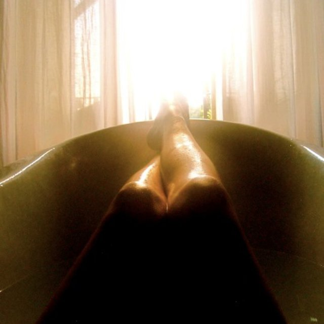 """Legs in the sun"" stock image"