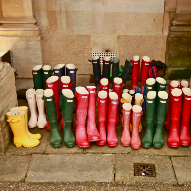 """Wellies"" stock image"