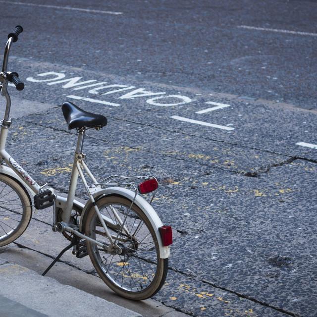 """Bike stand"" stock image"