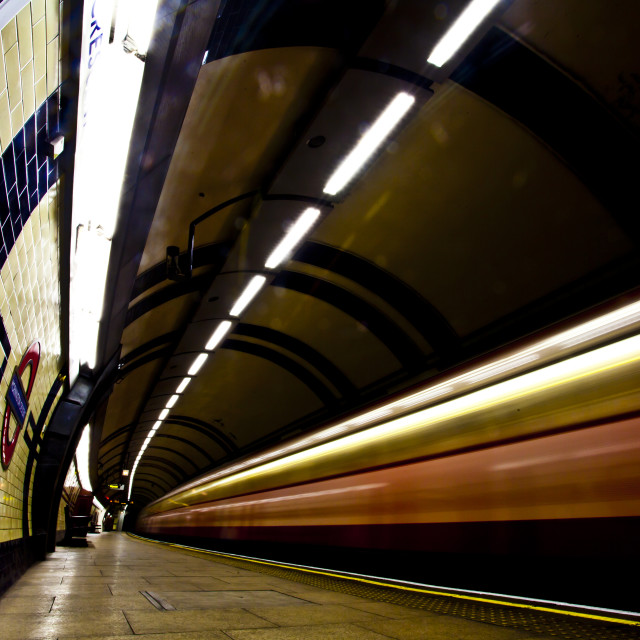 """""""Express Northern Line"""" stock image"""