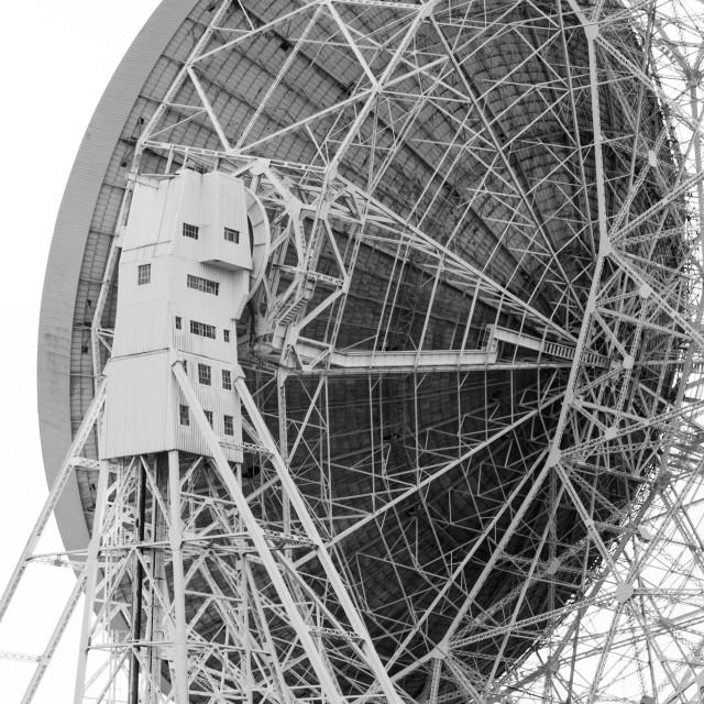 """Jodrell Bank Radio telescope"" stock image"