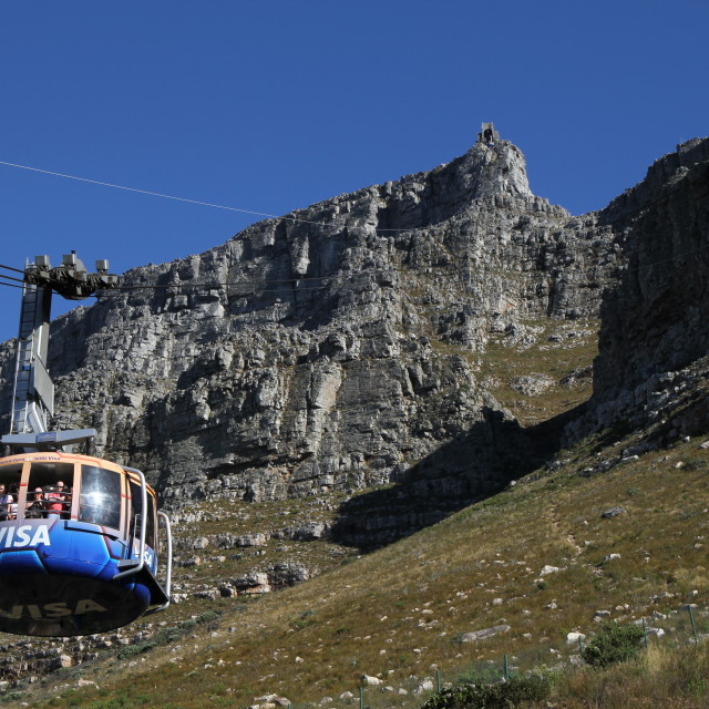 """Cablecar, Cape Town"" stock image"