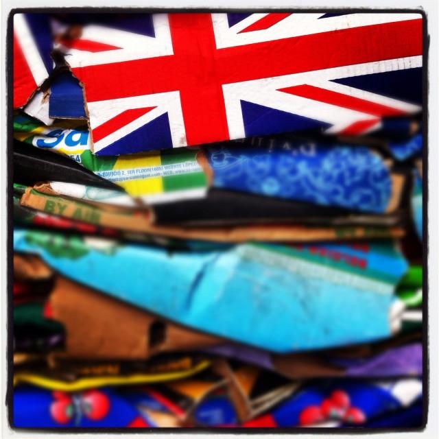 """British Boxes"" stock image"