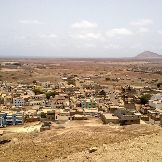 """Espargoes, Cape Verde"" stock image"