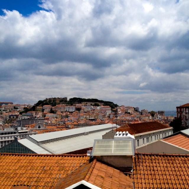 """Lisbon Rooftops"" stock image"