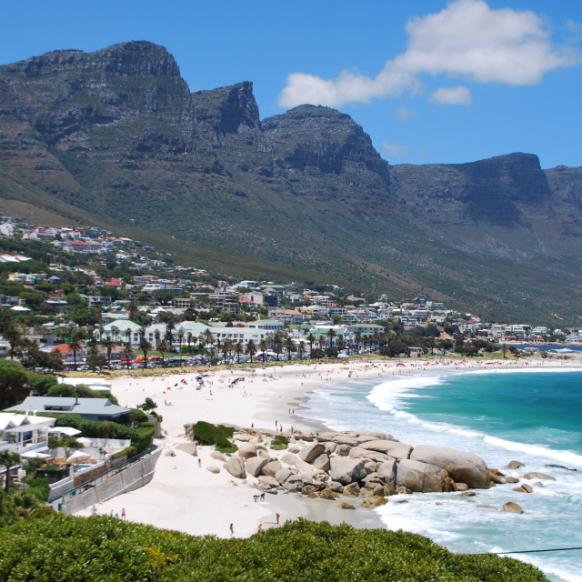 """Camps Bay, Cape Town"" stock image"