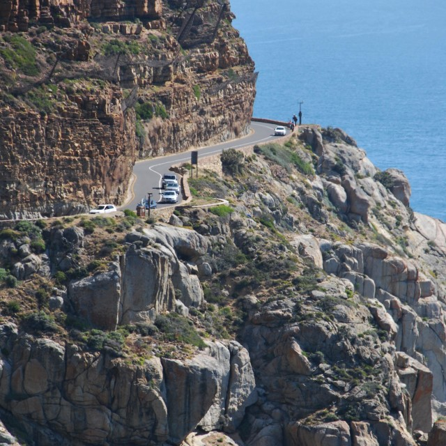 """Chapman's Peak, South Africa"" stock image"