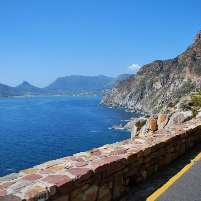 """Towards Hout Bay"" stock image"