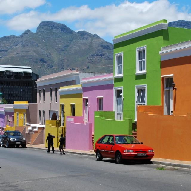 """Bo-Kaap, Cape Town"" stock image"