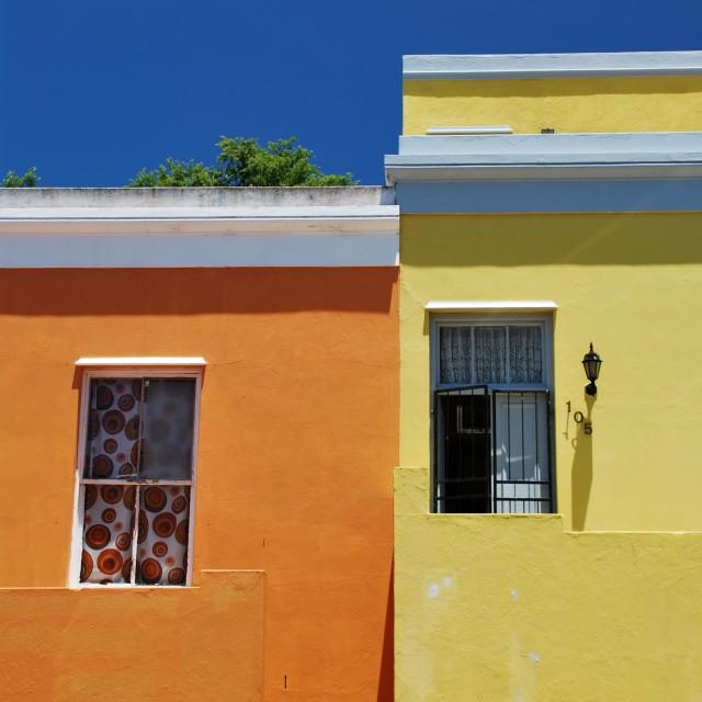 """Bo-Kaap buildings"" stock image"
