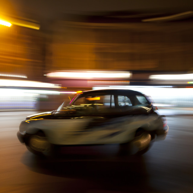 """Luminant Movement 1 Taxi"" stock image"