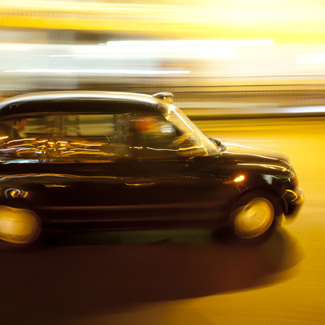 """Luminant Movement 3 Taxi"" stock image"