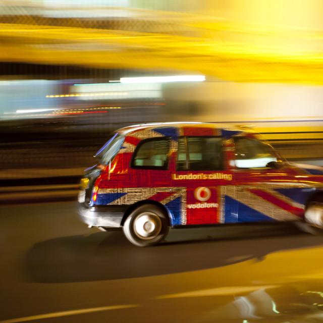 """Luminant Movement 4 Taxi"" stock image"
