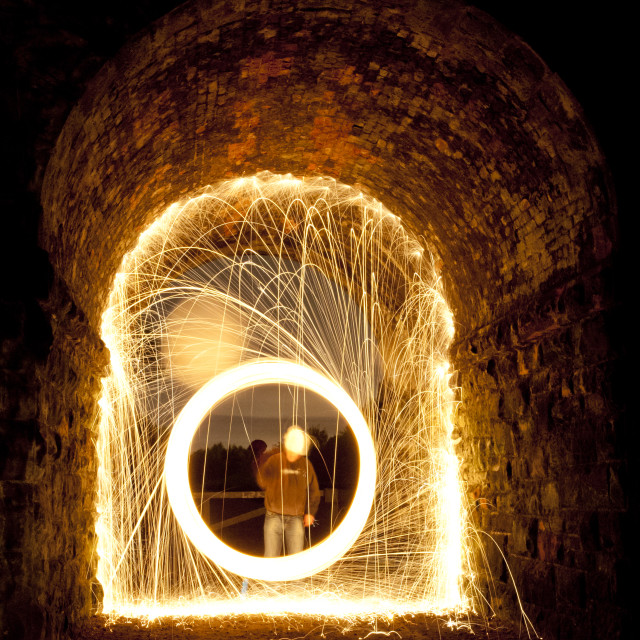 """Fire Portal"" stock image"