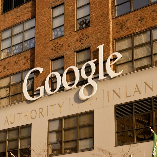 """""""Google NY"""" stock image"""