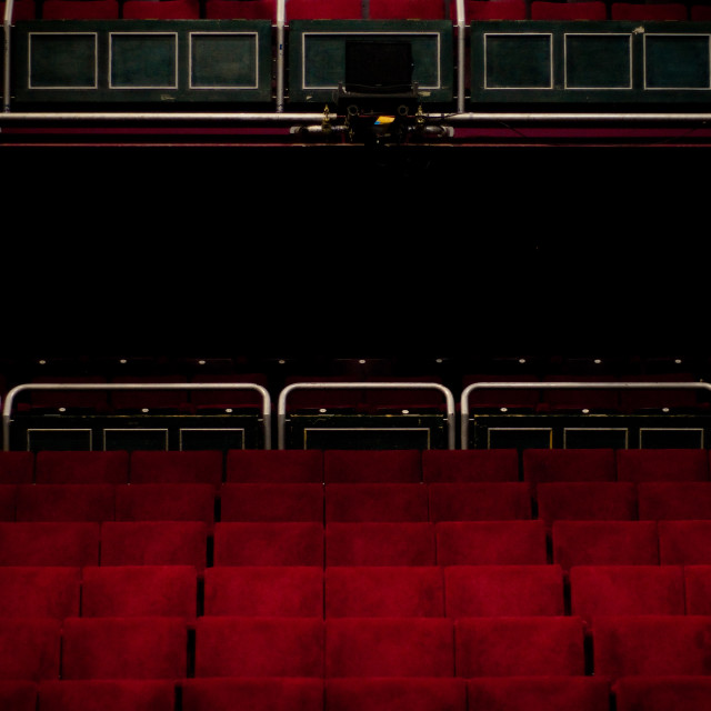 """Theatre Seating"" stock image"
