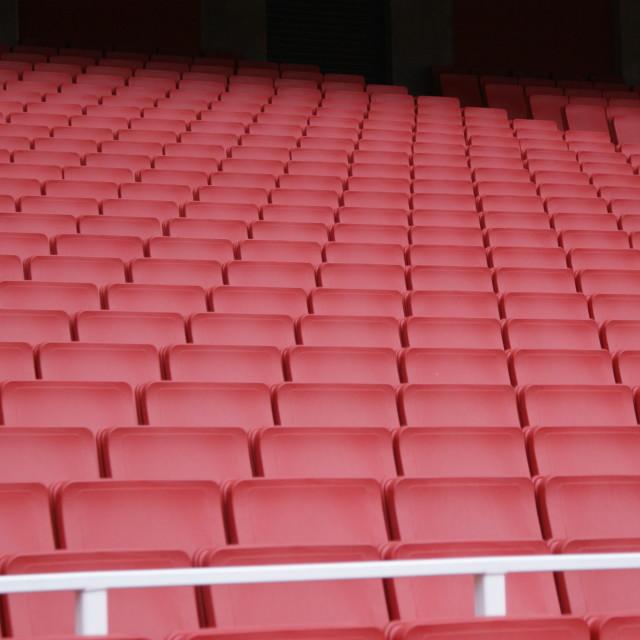 """Stadium Seats"" stock image"