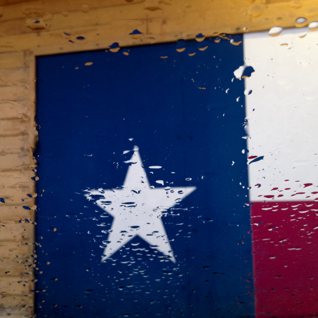 """Texas Rain"" stock image"