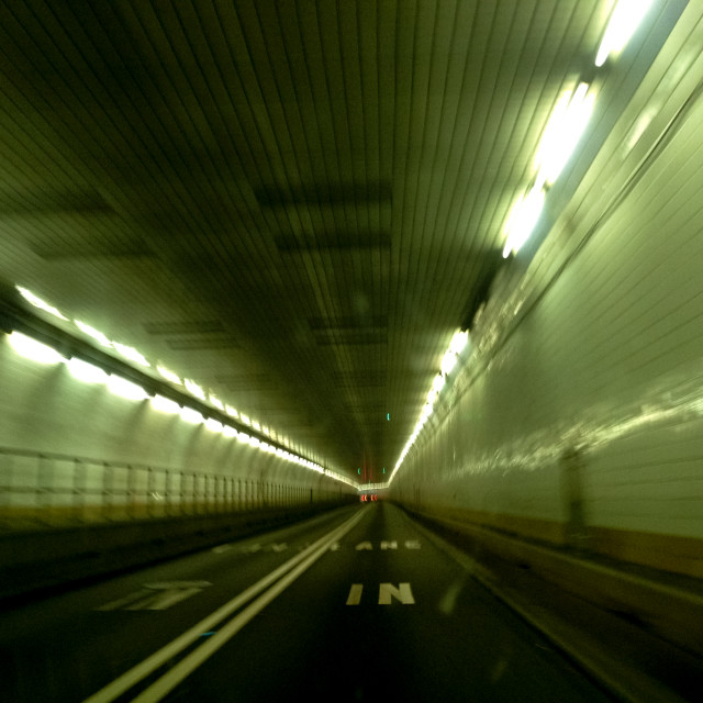 """Holland Tunnel"" stock image"