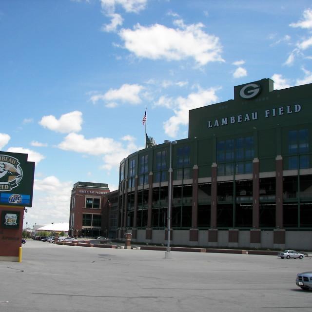 """""""Lambeau Field"""" stock image"""