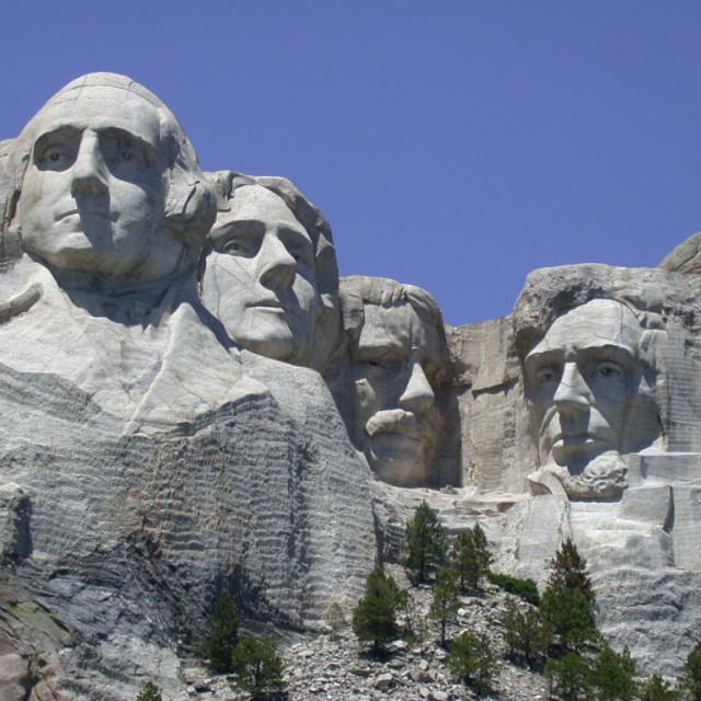 """Mt Rushmore"" stock image"