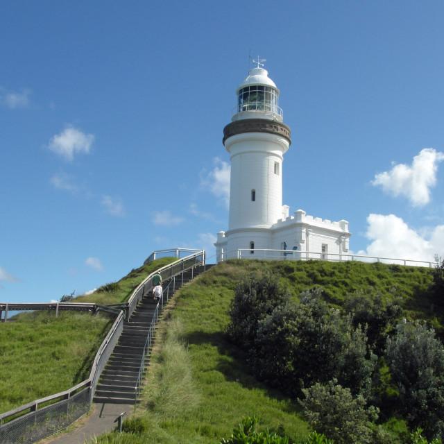 """Cape Byron Lighthouse"" stock image"