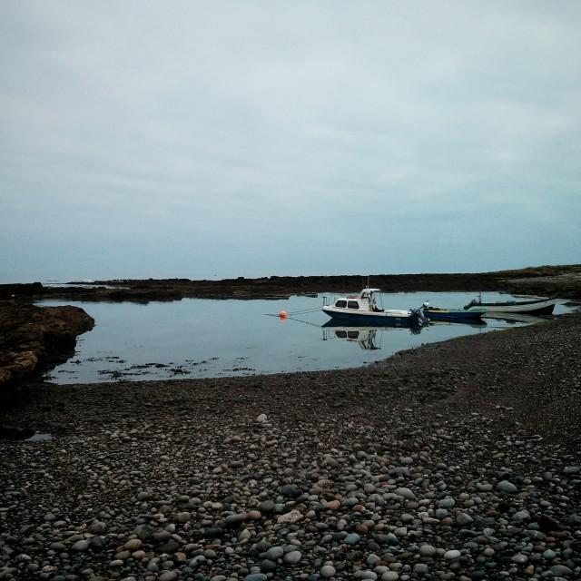 """Scottish fishing boat"" stock image"