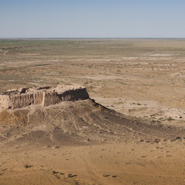 """""""Ayaz Qala 2, Uzbekistan"""" stock image"""
