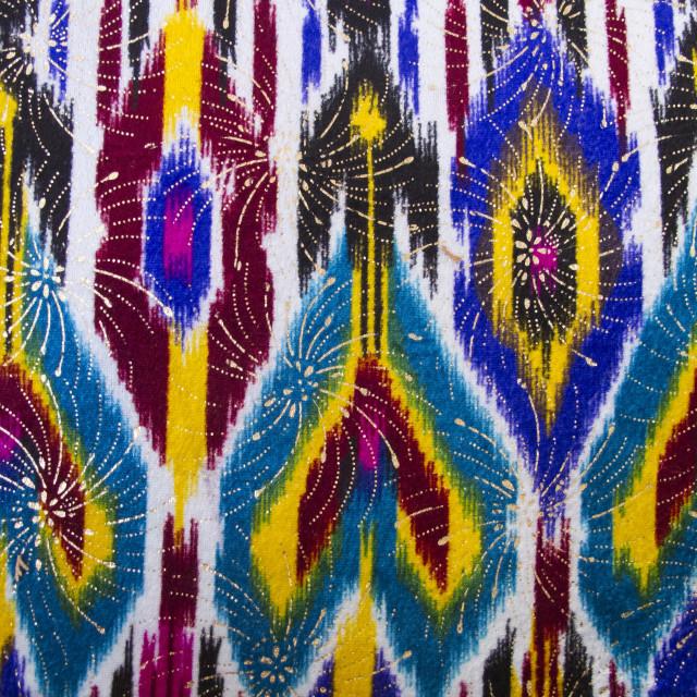 """""""Uzbek fabric"""" stock image"""